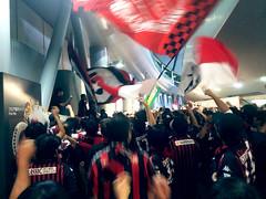 Consadole Sapporo-Shonan Bellmare #5 (Sasakei) Tags: japan football sapporo hokkaido soccer sapporodome iphone consadolesapporo