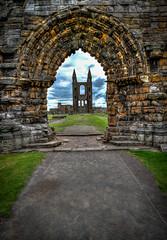 Through the Arch (devlin11) Tags: sea coast scotland seaside scenery fife portal standrews archway eastcoast
