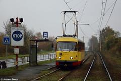 Litvínov (CZ), 05.11.16, T3SU 266 an der Haltestelle Cesta do Kopist