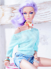 Perfect Picture Pretty Pastels (Michaela Unbehau Photography) Tags: perfect picture contest cycle 5 the theme for 2nd round is pretty pastels integrity toys poppy parker modd changers portrait lilac purple blue michaela unbehau fashiondoll doll dolls toy photography mannequin model mode puppe fotografie