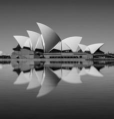 sydney opera house (Greg Rohan) Tags: opera australia icon water blackandwhite blackandwhitebw sydneyoperahouse photography sydney 2016 d7200