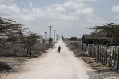 Solitudine (Natalia Lozano) Tags: kenya path sabana camino tendido electricidad
