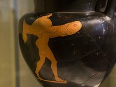 "A cult around the Phallos by The Pan Painter - I (egisto.sani) Tags: artegreca berlino vasi hetaira hetaera phallos phallus fallo ""red figure"" ""figure rosse"" ""pan painter"" ""pittore di pan"" krater cratere crater ""column krater"" ""cratere collonnette"" greek greca ceramic pottery vases ceramica ""vasi greci"" berlin ""altes museum"" antikensammlungen 3206"