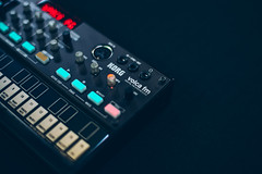 Korg Volca FM (Lance Camp) Tags: korg volca fm synthesizers synthwave music instrument spacefighter band vsco vscocam color electronics synth