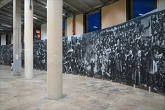 Chroniques de Clichy-Montfermeil par JR (Palais de Tokyo, Paris) (dalbera) Tags: dalbera palaisdetokyo artcontemporain paris france clichymontfermeil portraits jr