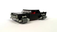 Hover car conversions (timhenderson73) Tags: lego custom retro future moc car truck van lincoln chevrolet mercedes plymouth impala cuda continental gt3