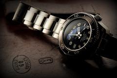 La montre du jour - 09/03/2017 (paflechien33) Tags: seikosbdx017marinemaster300 fuji xt1 fujinon 55200mm nissini60a nikonsb900 nikonsb700