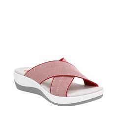 "Clarks Arla Elin sandal red • <a style=""font-size:0.8em;"" href=""http://www.flickr.com/photos/65413117@N03/33226372100/"" target=""_blank"">View on Flickr</a>"
