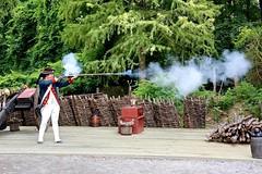 Fire ! (nutzk) Tags: virginia yorktown americanrevolutionmuseum recreated continentalarmy encampment firing gun