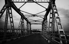 (Vindeca Raine) Tags: photography blackwhite streetphotography streets bridges italy sardegna cagliari
