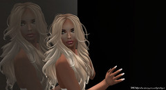 -The only time you should ever look back, is to see how far you've come- (Second Life ツ) Tags: blonde sl secondlife double lookingback girl