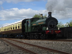 IMG_4746 - GWR Hudswell Clarke Saddle Tank 813 (SVREnthusiast) Tags: didcotrailwaycentre didcot railway centre gwrhudswellclarkesaddletank813 gwr hudswellclarke saddletank 813