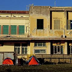 Ostia, Lido di Roma (pom.angers) Tags: panasonicdmctz30 february 2017 lidodiroma ostia beach lazio rome roma europeanunion camping 100 150
