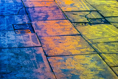 BRYAN_20170125_IMG_1093 (stephenbryan825) Tags: liverpool color floor graphic multicoloured pavement reflection selects wetpavement