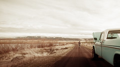 Miles (Rustic Lens Photography) Tags: ruralroads classic idaho pickup rural western cowboy dodge landscape