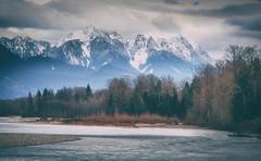 At the riverbend (MontanaRoots (aka Craig)) Tags: river mountain riverbend landscape canon washington cascades water winter
