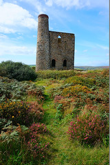 Wheal Reeth Tin Mine Engine House (Cripplesease, Cornwall, England) (The Minerals Metals & Materials Society) Tags: tms tms2017 tms2017annualmeetingexhibition photocontest photography materialsphotography micrograph