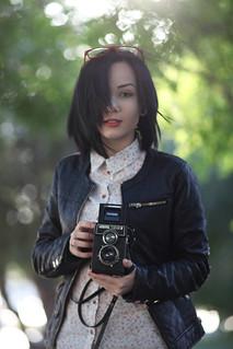 Lubitel 166  ( Canon EF 135 mm f / 2.8 Soft Focus )