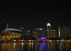 Esplanade (ong_jeric) Tags: olympus olympuspenepl7 mzuiko 17mm mzuikodigital17mmf18 singapore nightphotography