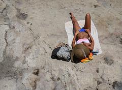 IMG_4403 (nagumbe) Tags: malta taxbiex sun sunbathe sunbathing mediterranean beach suntan bikini