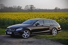 Mercedes CLS Shooting Brake AMG Sport (steven.kemp) Tags: mercedes cls 250 cdi amg sport shooting brake weston longville rape seed field car obsidian black