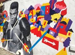 The Greatest (kent.c) Tags: ali streetart nyc ny brooklyn willamsburg newyork kentc kentcphotography graffiti thegreatest thegreatestalltime muhammadali professionalboxer boxing boxer cassiusmarcellusclayjr cassiusclay kentcstreetart 2016