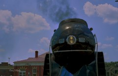 611 on tour (Tom Slate) Tags: 611 locomotive 611locomotive train railroad nw norfolkandwestern railroadhistory trainstation petersburgvirginia trainengine trainlocomotive railwayana railroadiana railvignette