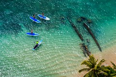 Waikiki beach Honolulu (Hawaii) (jjdupuy) Tags: waikikibeach usa oahu honolulu hawaï 2017 canon6d