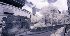 Infrared London April 16th 2017 (8 of 66) (johnlinford) Tags: canon40d canonefs1022 infrared infraredlandscape infraredlondon london cityoflondon city skyscraper