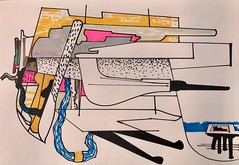 Jim Harris: Untitled. (Jim Harris: Artist.) Tags: art arte drawing abstract avantgarde zeichnung dessin zeitgenössische