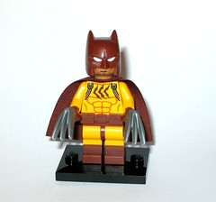 71017 16 catman minifigure lego the lego batman movie series minifigures 2017 a (tjparkside) Tags: 17017 16 catman claw claws cape mask rogues gallery bad lego 71017 batman movie series collectable minifigure minifigures mini figure figures fig figs 20 twenty set