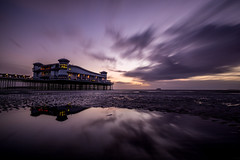 Weston-super-Mare: Grand Pier (Adam Court) Tags: weston super mare pier somerset sea clouds filter 1000 landscape ilce6000 sony a6000 samyang 12mm