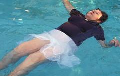 Easter full float (clarkfred33) Tags: easter pool swimmingpool swim float water wetadventure wetfun wetlook wethair wetblouse wetskirt enjoy wetwoman senior seniorfun trashthedress ttd