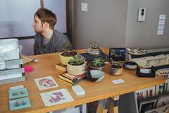 IMG_8179 (ahcordes) Tags: grand rapids art studio gallery cerasus pottery print design cat artist portrait vscofilm canon