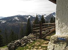 Seebergalm, 1.400 m (aniko e) Tags: alm hut hütte bayrischzell seeberg seebergkopf seebergalm spring mountains bavaria bavarianprealps bayern bayerischevoralpen hiking outdoors