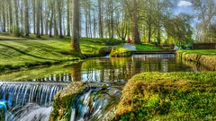 Life is beautiful (Ⓨ a s m i n e Ⓗ e n s +4 900 000 thx❀) Tags: annevoie hdr belgium green nature water cascade waterfall hensyasmine landscape