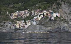 Manarola Cinque Terre (Rene Stannarius) Tags: italy cinque terre mittelmeer manarola mediterranean ufer küste meer unescowelterbe liguria five lands