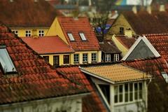 House in Odense (tonny_christensen) Tags: tiltshift miniature nikon nikkor 70200mmf28 roof fyn dänemark denmark shittyweather