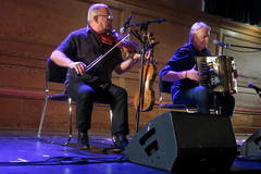 Aly Bain & Phil Cunningham (2017) 01 (KM's Live Music shots) Tags: folkmusic greatbritain scotland shetlandislands scottishfolk alybainphilcunningham alybain philcunningham fiddle violin pianoaccordion accordion cecilsharphouse