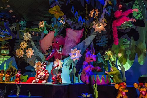 """it's a small world"" at Disneyland"