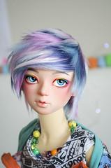 Dusky Mermaid Short Cut (✄Frappzilla) Tags: bjd abjd customhouse hyun doll
