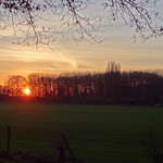 Sunset, Odijk, Netherlands - 4885 thumbnail
