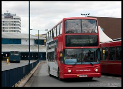 No.79 leaving West Bromwich Bus Station (zweiblumen) Tags: y731toh 79 bus doubledecker nationalexpresswestmidlands publictransport zweiblumen canoneos50d canonef50mmf14usm polariser westbromwich busstation birmingham westmidlands england uk wolverhampton darlaston