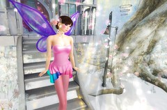 2017 Coordinate 60 (littlerowan) Tags: secondlife cutieloot fairy pixie tinkerbell pigtails strapless fishnets fairywings doe song tsg thesugargarden deviance lefilcasse bossie