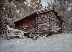 Ice Cabin (Neal Williams) Tags: sweden norrbotten norrland cabin snow ice winter winterscene landscape