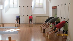 Adho Mukha Svanasana (Scuola Yoga Camerino) Tags: adho mukha svanasana