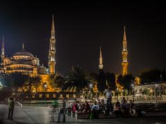 Istanbul (gies777) Tags: night turkey nacht trkiye istanbul mosque turquie trkei freehand sultanahmet estambul langzeitbelichtung turchia freihand 17mm blauemoschee moschee nachtaufname weloveistanbul camiisultanahmetcamiisultanahmedmoschee