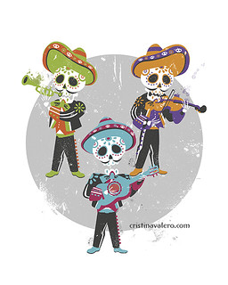 Calaveritas mariachis