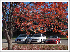 Cars and Color (sjb4photos) Tags: autumn michigan annarbor washtenawcounty chryslercrossfire