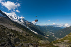 Cable Car (gordons-joint) Tags: snow france mountains alps clouds altitude valley cablecar chamonix montblanc aiguilledumidi